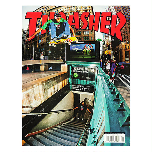 THRASHER - January 2019. Issue 462