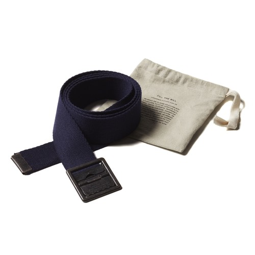 【FILL THE BILL】《UNISEX》GI BELT - NAVY