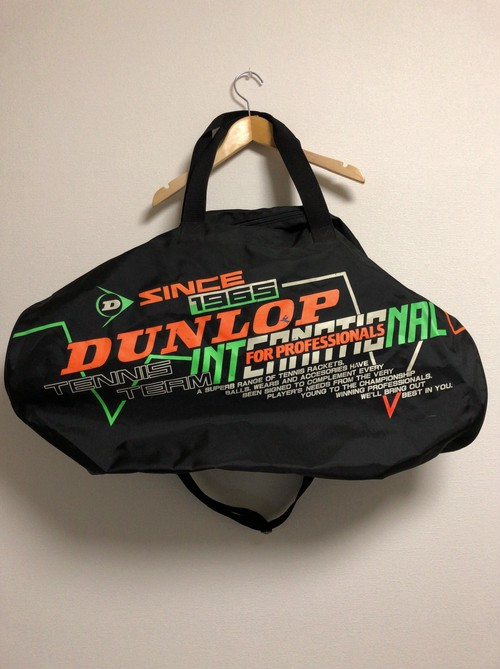 90's DUNLOP boston bag
