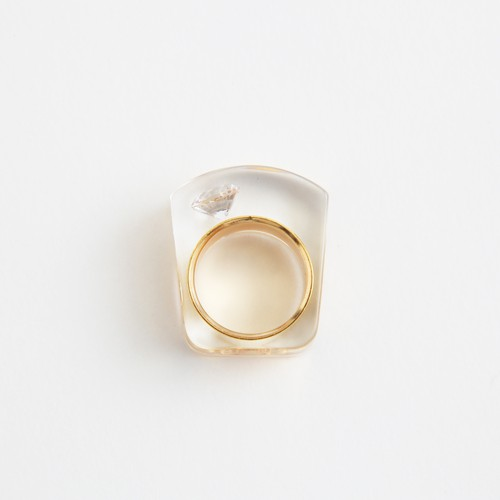 JUTIQU/Glam Ring 1 _gold