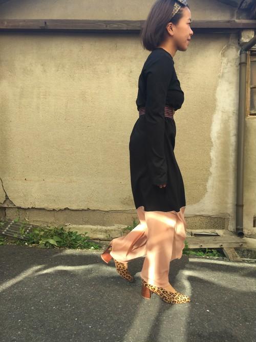 Jersey & mesh Low feared skirt