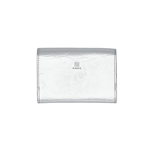 TIN BREATH Business card case double Silver