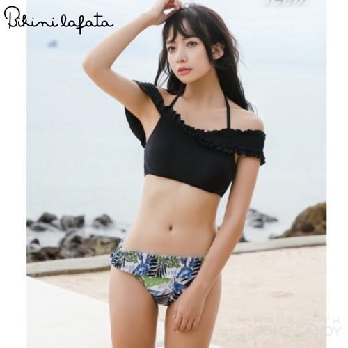 【即納】送料無料!水着 オフショル ビキニ ~  Bikini  〜 1054