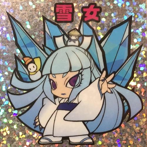 【Kiki☆May】48seal-03 雪女シール02