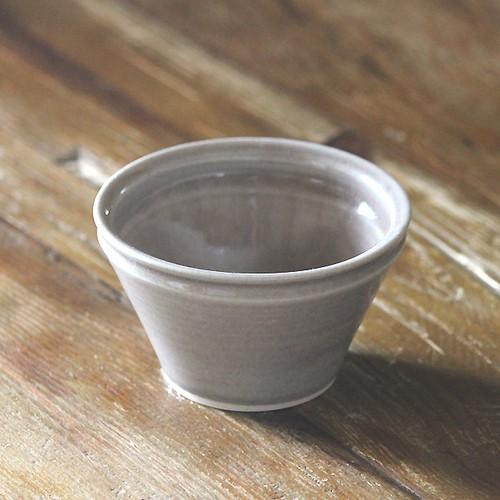 やさしい器シリーズ Y-123 デザートカップ(グレイ)