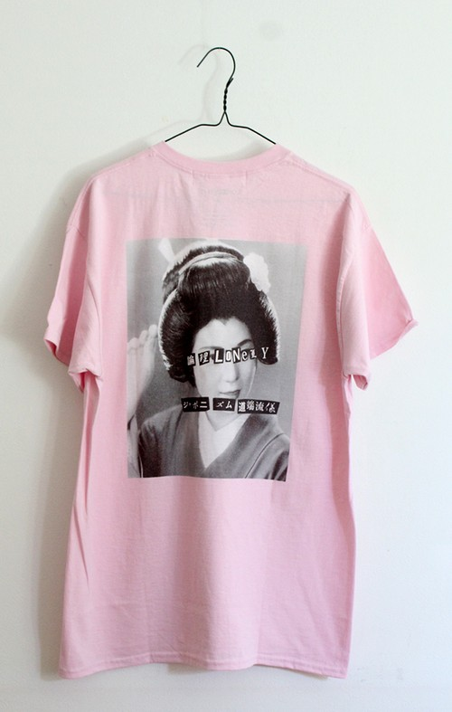 """LONELY論理#10 """"ANARCHY IN THE JAPANESE MAIKO"""" T-SHIRTS"""