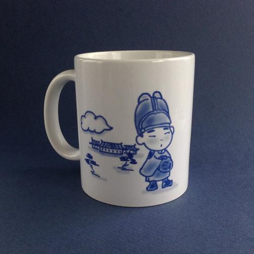 ちびちょな龍マグカップ