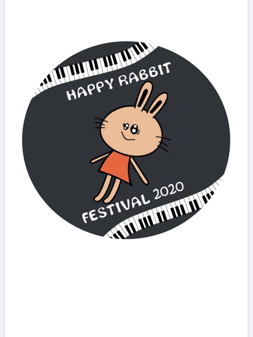 HAPPY RABBIT FESTIVAL 2020 記念缶バッチ