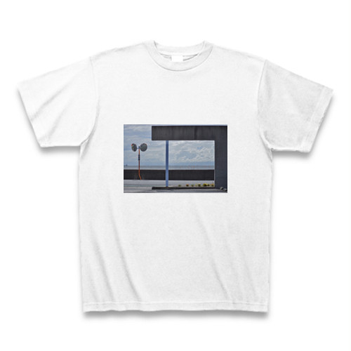 print T-shirt 「LOVE MY TOWN SHINMAIKO」