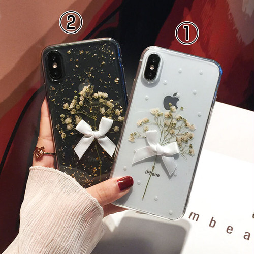 【オーダー商品】Real flower iphone case