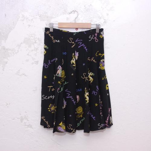 【古着】  FENDI ビンテージシルクスカート
