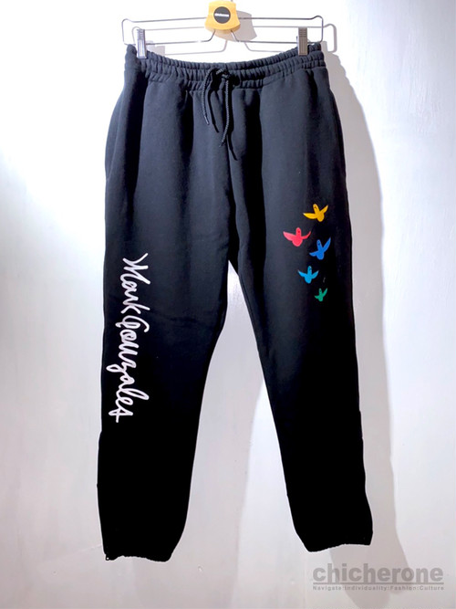 【MARK GONZALES】Angle Sweat Pants BLACK