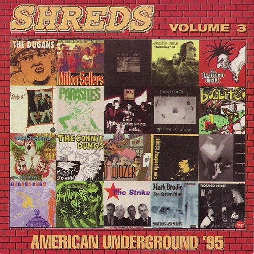 v/a / shreds volume 3 - american underground '95 cd
