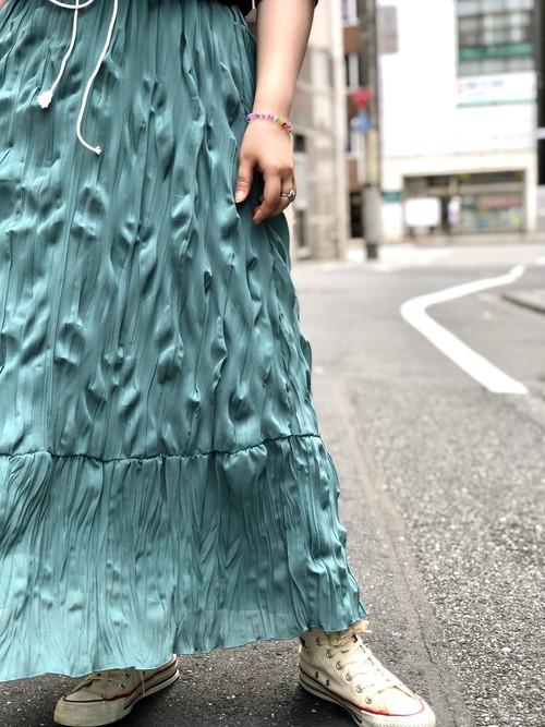 【DUST AND ROCKS】Crinkle Skirt