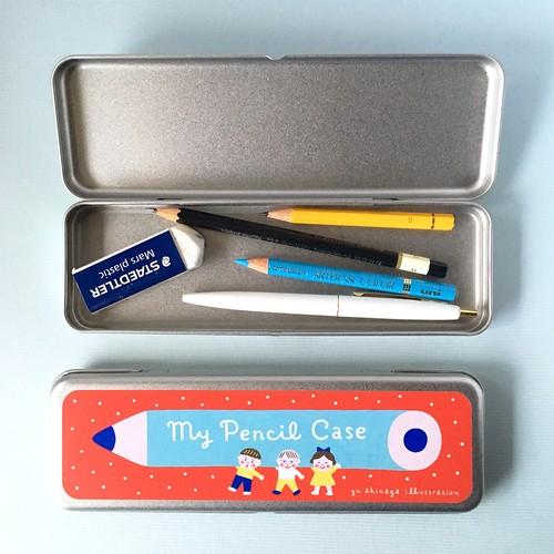 缶ペンケース「My Pencil Case」 / Red