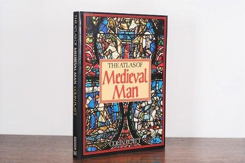 【VA231】THE ATLAS OF Medieval Man /visual book