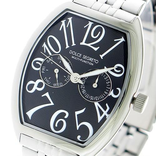 ドルチェセグレート DOLCE SEGRETO クオーツ 腕時計 MFK100BK ブラック/シルバー ブラック