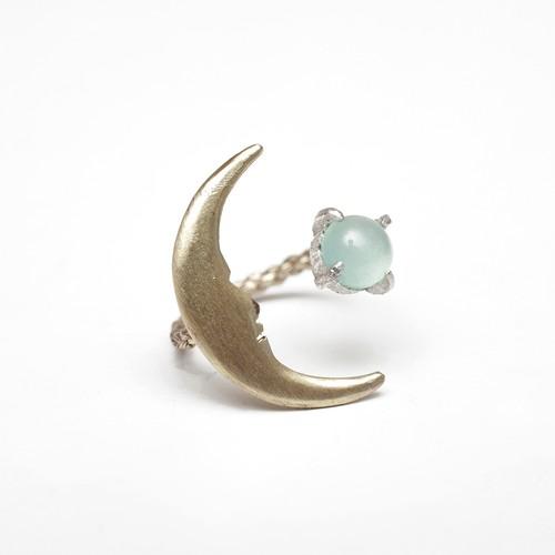 お月さまとクリソプレーズの指輪