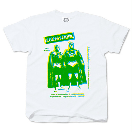 Cool Luchadores white/green