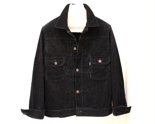 FOB FACTORY Corduroy 2nd Jacket Black