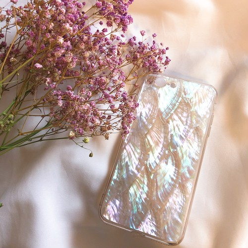 【予約】Aurora shell phone case♡