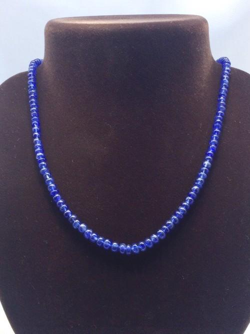 大粒・濃厚 宝石質5A タンザナイト ネックレス