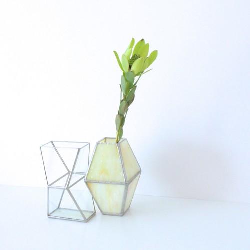 COMBINATION Vase / yellow