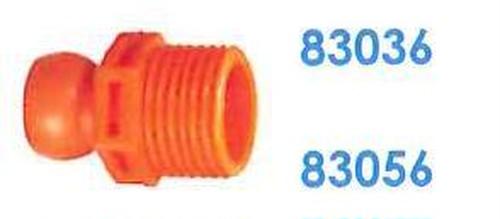 """83056 汎用クーラントホース3/8"""" 1/2"""" PTコネクター"""