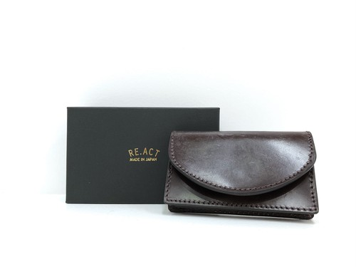 【RE.ACT】Card Case (burgundy)