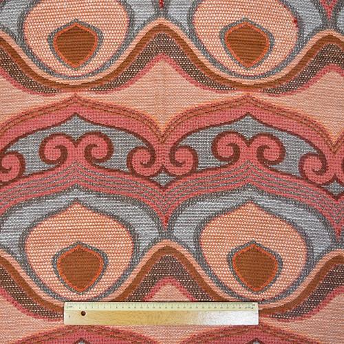 織柄カーテン(横110×縦210)