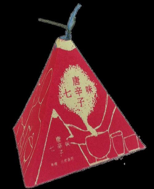 麻地球日オリジナルオーガニック七味唐辛子