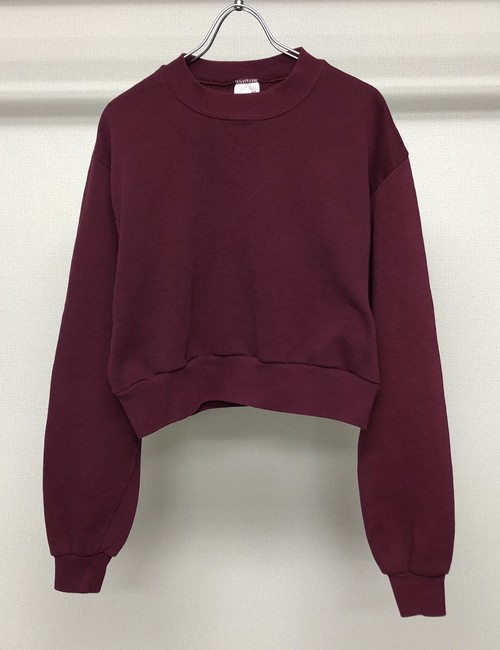 1990s CROPPED SWEATSHIRT