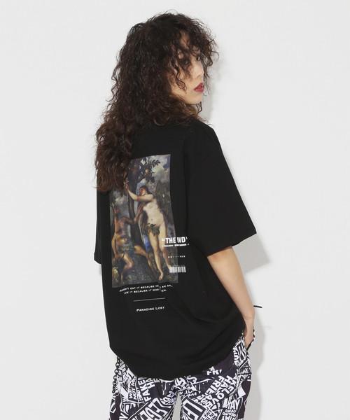 Adam & Eva T-shirt [Black]