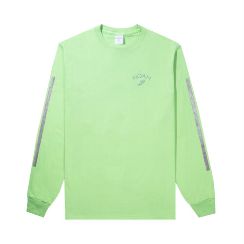 Winged Foot L/S Tee(Lime)