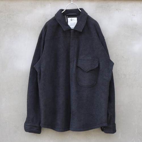 "O- ""FLEECE HIGH-NECK SHIRT"""