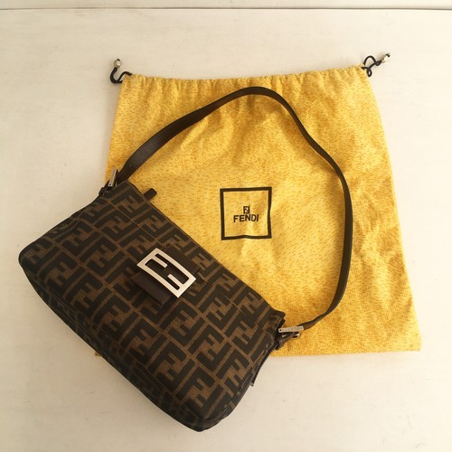 FENDI zucca hand & shoulder bag