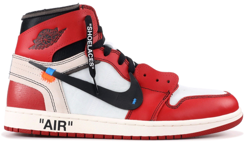 NIKE THE 10:AIR JORDAN 1 OFF-WHITE VIRGIL ABLOH CHICAGO
