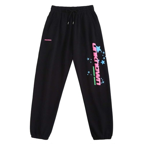 UNKNOWN Summer Season Jogger Pants BLACK