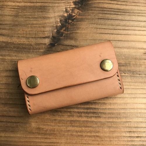 カードケース(名刺入れ):ヌメ革