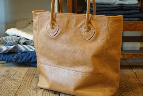 "L.L.Bean all-leather Tote ""SAMPLE NOT FOR SALE"""