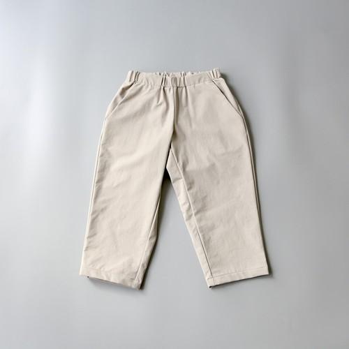 MOUN TEN.(マウンテン)/ double cloth stretch pants / greige / 0(150-160cm)