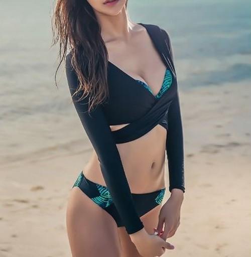 【送料無料】プチプライス セクシー トロピカル ビキニセット バックコンシャス ビスチェリゾート 夏 海 ビーチ プール