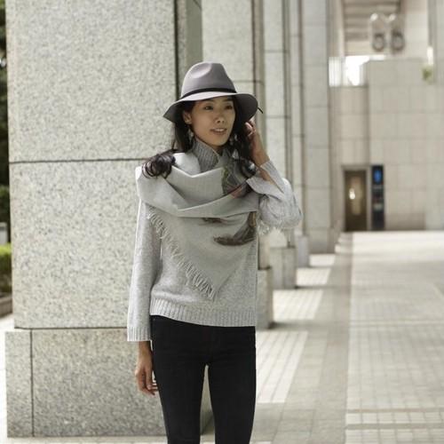 ENSO scarf grey