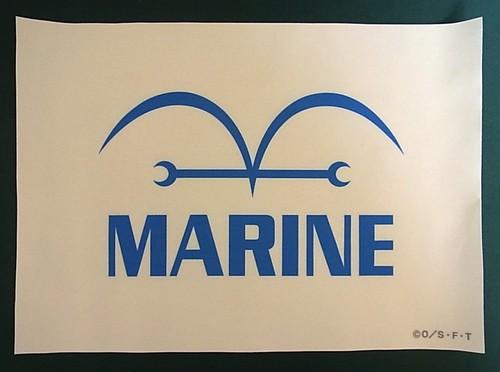 ワンピース フラッグ・コレクション 海軍