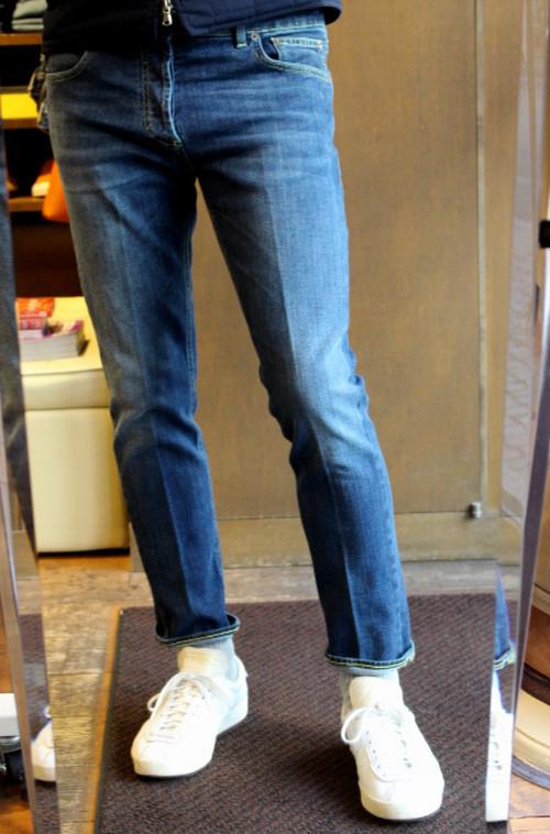 ENTRE AMIS Slim Fit Cotton Stretch Jeans