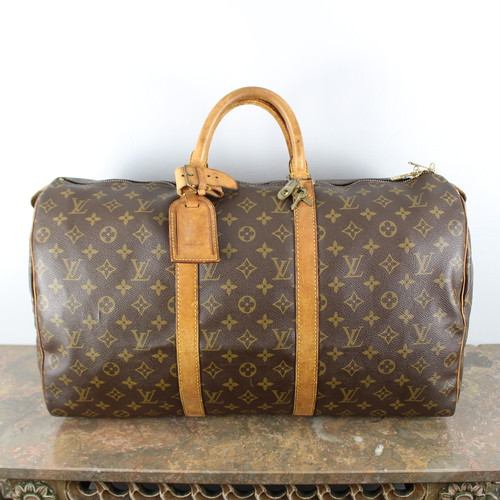 .LOUIS VUITTON M41426 MB1900 MONOGRAM PATTERNED BOSTON BAG MADE IN FRANCE/ルイヴィトンキーポル50モノグラム柄ボストンバッグ 2000000043777