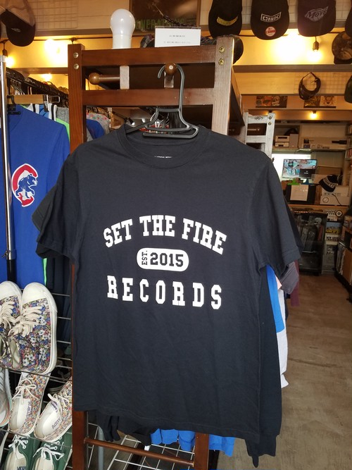 SET THE FIRE RECORD .black