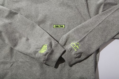 chill time L/S (GRAY)