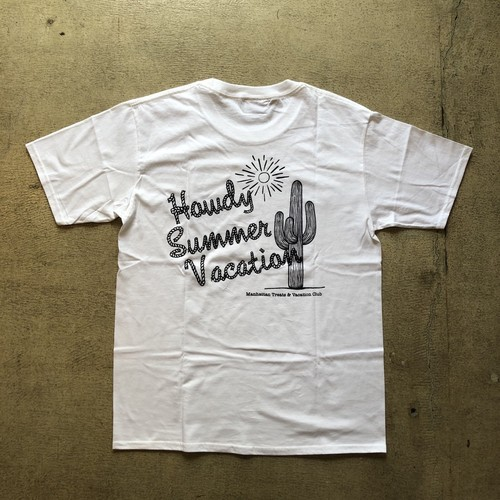 Manhattan Treats × Vacation Club #Howdy Summer Vacation Tee
