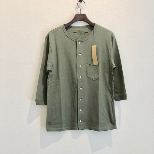 T.Q.S FULL OPEN T-S (GREEN) / GERUGA